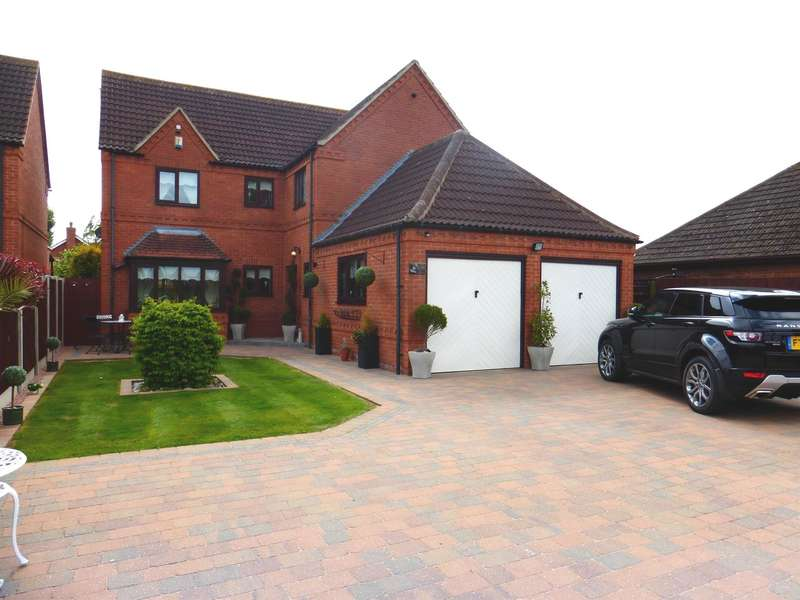 4 Bedrooms Detached House for sale in Marsh Lane, Farndon, Newark, NG24