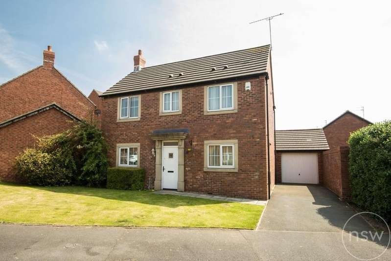 3 Bedrooms Detached House for sale in Yoxall Drive, Kirkby