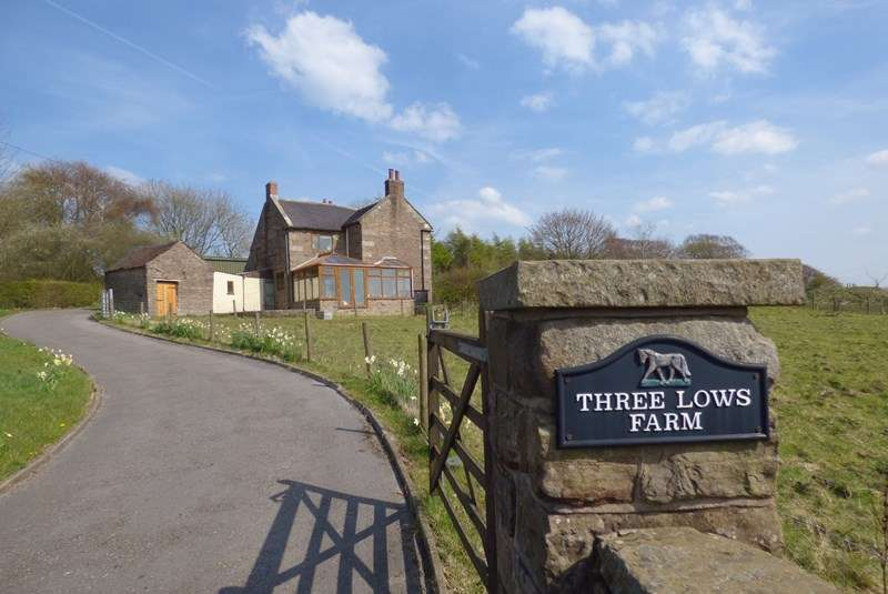 3 Bedrooms House for sale in Three Lows Farm, Star Road, Oakamoor, Staffordshire ST10