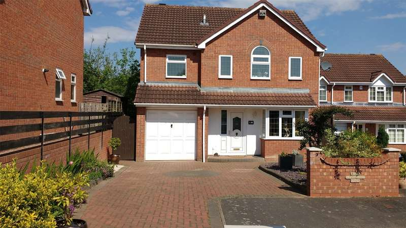 4 Bedrooms Detached House for sale in Town Acres, Long Meadow, Warndon Villages, Worcester