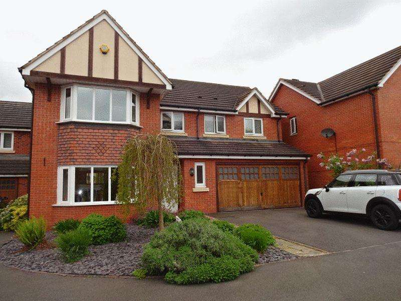 5 Bedrooms Detached House for sale in Evergreen Way Stourport-On-Severn DY13 9GH