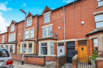 3 Bedrooms Terraced House for sale in Derbyshire Lane, Hucknall, Nottingham, Nottinghamshire
