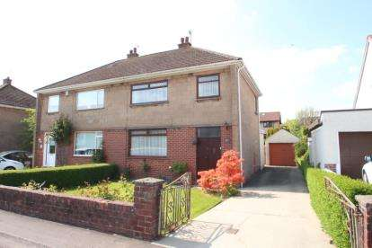 3 Bedrooms Semi Detached House for sale in Manor Avenue, Kilmarnock
