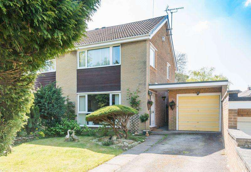 3 Bedrooms Semi Detached House for sale in Everard Drive, Bradway S17 4NE - Beautiful Enclosed Rear Garden