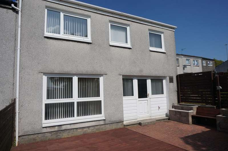 3 Bedrooms End Of Terrace House for sale in Abbotsford Road, Greenfaulds, Cumbernauld G67