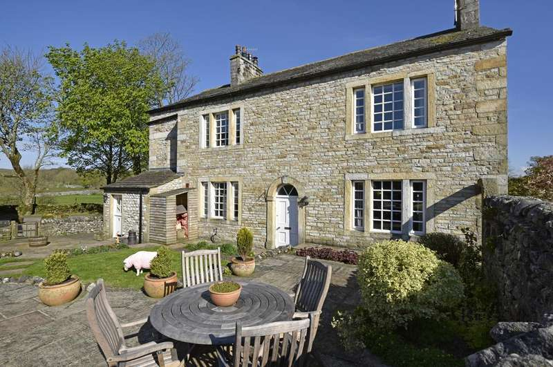 4 Bedrooms House for sale in Grange Farm House, Linton-in-Craven, Skipton, BD23 5HH