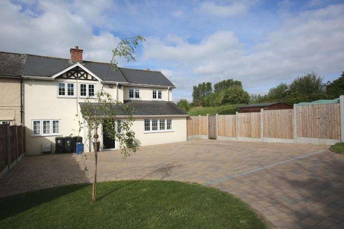 4 Bedrooms Semi Detached House for sale in GREENSTED GREEN, GREENSTED, ONGAR CM5