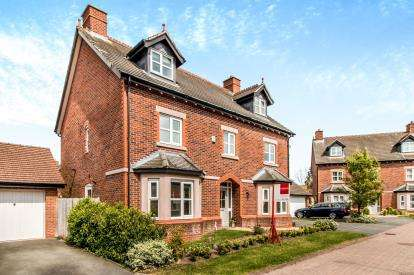 5 Bedrooms Detached House for sale in Wellcroft Gardens, Lymm, Warrington, Cheshire