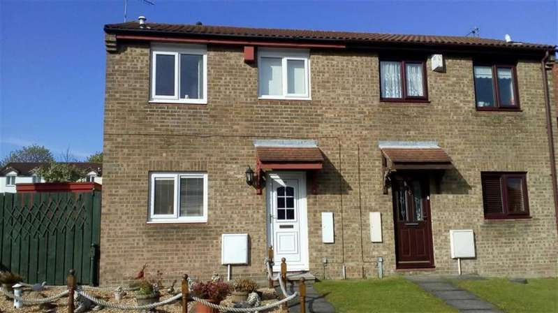 2 Bedrooms Semi Detached House for sale in Broadbank, Wardley, Tyne And Wear