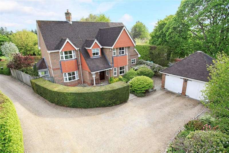 5 Bedrooms Detached House for sale in Little Hayes Lane, Itchen Abbas, Winchester, Hampshire, SO21