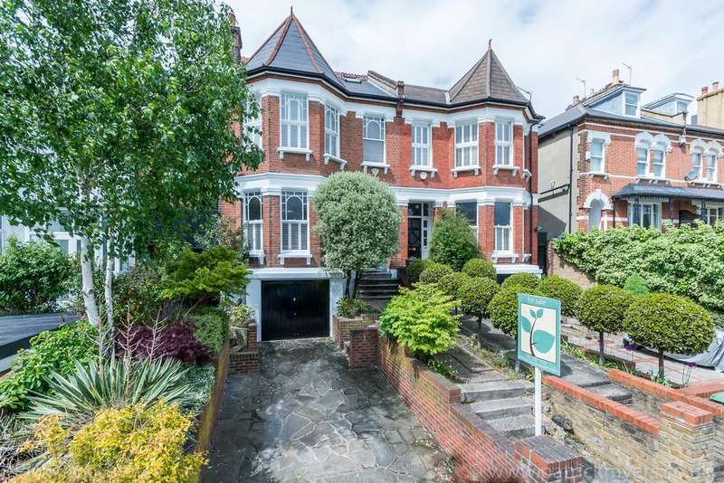 5 Bedrooms Semi Detached House for sale in Underhill Road,East Dulwich London