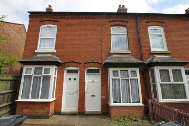2 Bedrooms Terraced House for sale in Primrose Avenue, Poplar Road, Sparkhill, Birmingham, West Midlands