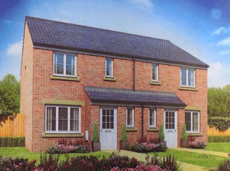 3 Bedrooms Semi Detached House for sale in 52 (Plot 97) Emily Fields, Birchgrove, Swansea. SA7 9NJ