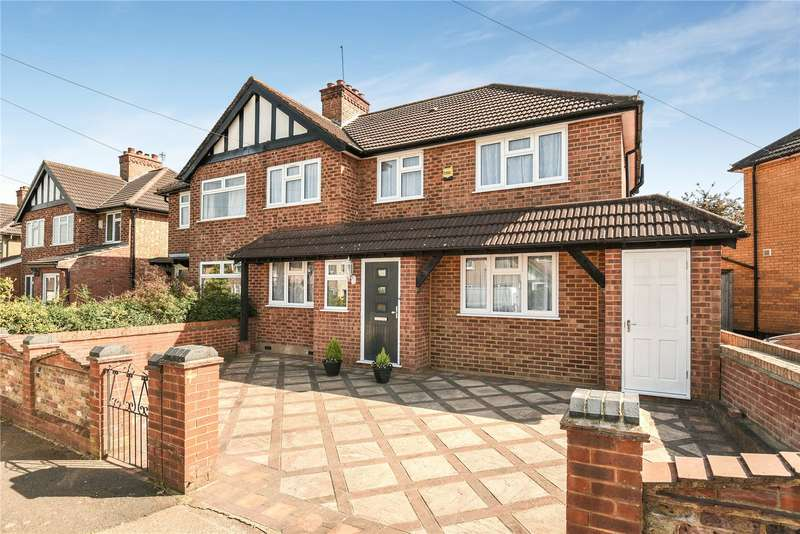 5 Bedrooms Semi Detached House for sale in Misbourne Road, Hillingdon, Middlesex, UB10