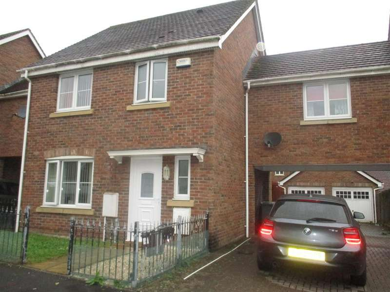 3 Bedrooms Semi Detached House for sale in Lon yr efail, Caerau, Cardiff