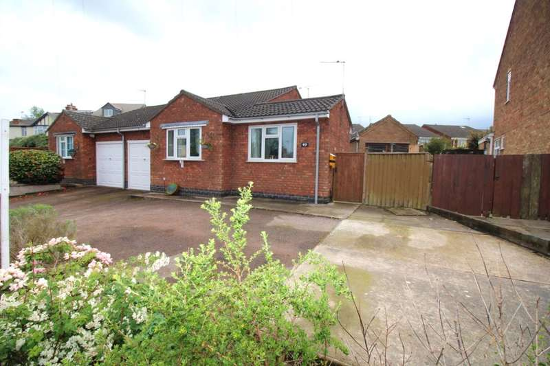 2 Bedrooms Semi Detached Bungalow for sale in Heath Lane, Earl Shilton, Leicester, LE9