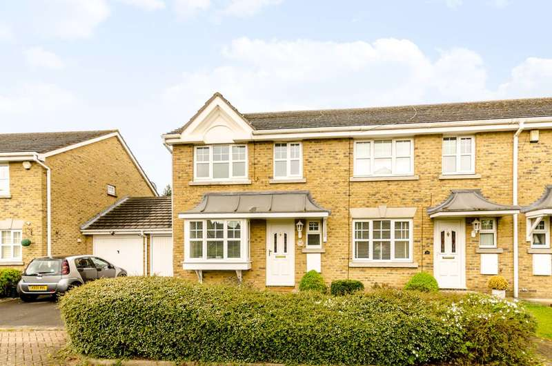 3 Bedrooms End Of Terrace House for sale in Woldham Place, Bromley, BR2