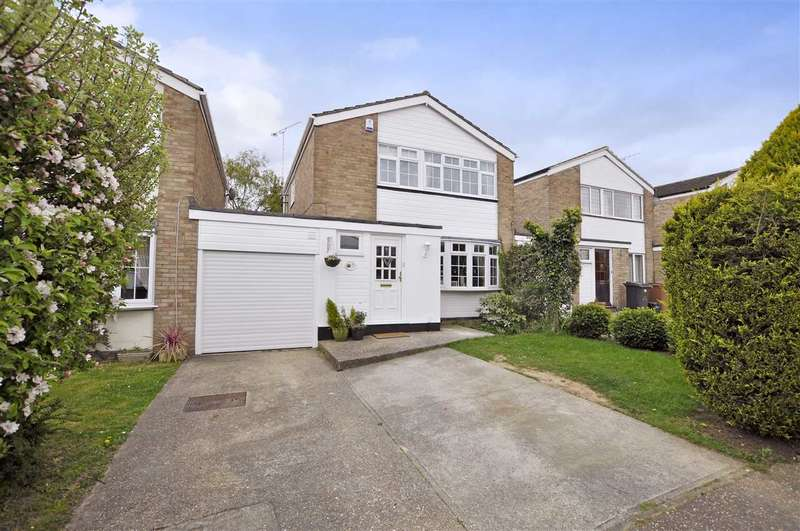 3 Bedrooms Link Detached House for sale in Hill View, Bicknacre