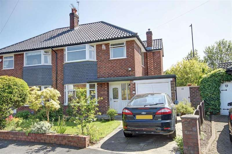 3 Bedrooms Semi Detached House for sale in Goodwood Crescent, Timperley, Cheshire