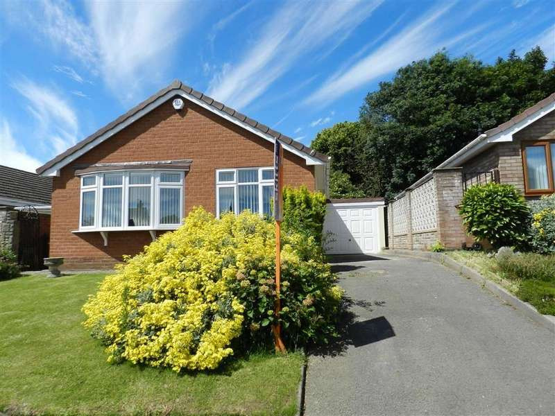 2 Bedrooms Detached Bungalow for sale in Lydford Road, Bloxwich, Walsall