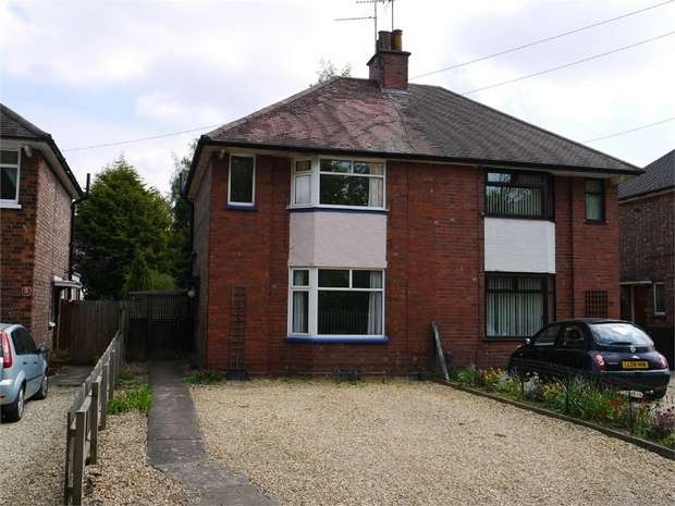 2 Bedrooms Semi Detached House for sale in Bellfields Lane, Market Harborough, Leicestershire