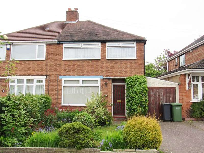 3 Bedrooms Semi Detached House for sale in Ventnor Road, Solihull