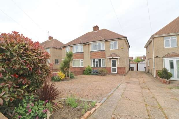 3 Bedrooms Semi Detached House for sale in Downsview Road, Eastbourne, BN20
