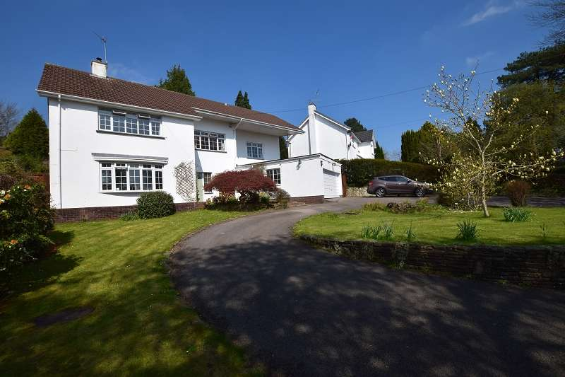 4 Bedrooms Detached House for sale in Bronllwyn Mill Road, Lisvane, Cardiff. CF14 0XH