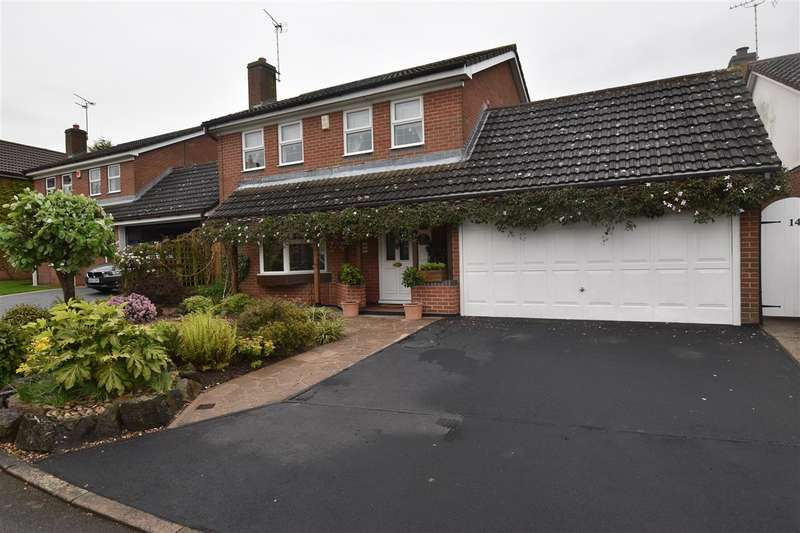 4 Bedrooms Detached House for sale in Chestnut Close, Broughton Astley
