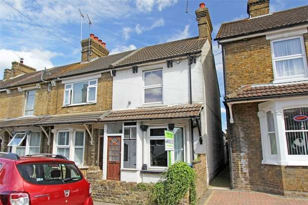 3 Bedrooms End Of Terrace House for sale in Albany Road, Sittingbourne, Kent
