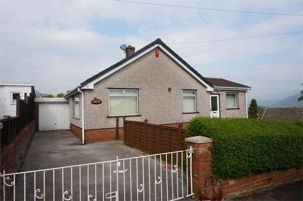 2 Bedrooms Detached Bungalow for sale in 2 Stephens Crescent, Govilon, ABERGAVENNY, Monmouthshire