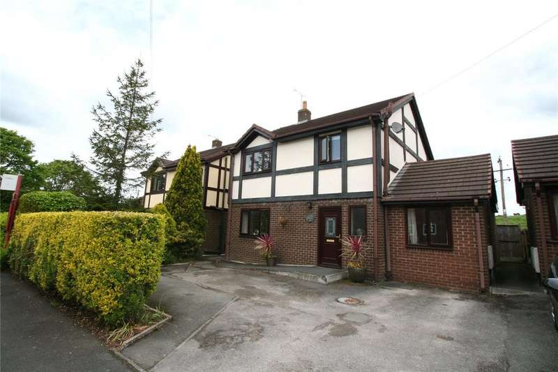 3 Bedrooms Detached House for sale in Woodlands View, New Rhosrobin, Wrexham, LL11