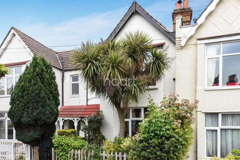 3 Bedrooms Terraced House for sale in Delamere Road , SW20