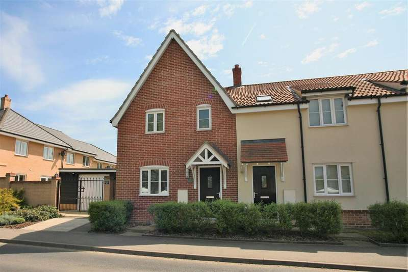 3 Bedrooms End Of Terrace House for sale in Station Road, Campsea Ashe, Woodbridge