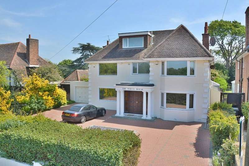 6 Bedrooms Detached House for sale in The White House, Littledown Drive, Bournemouth