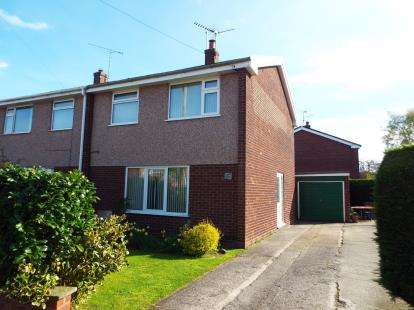 3 Bedrooms Semi Detached House for sale in Llys Y Wern, Sychdyn, Mold, Flintshire, CH7