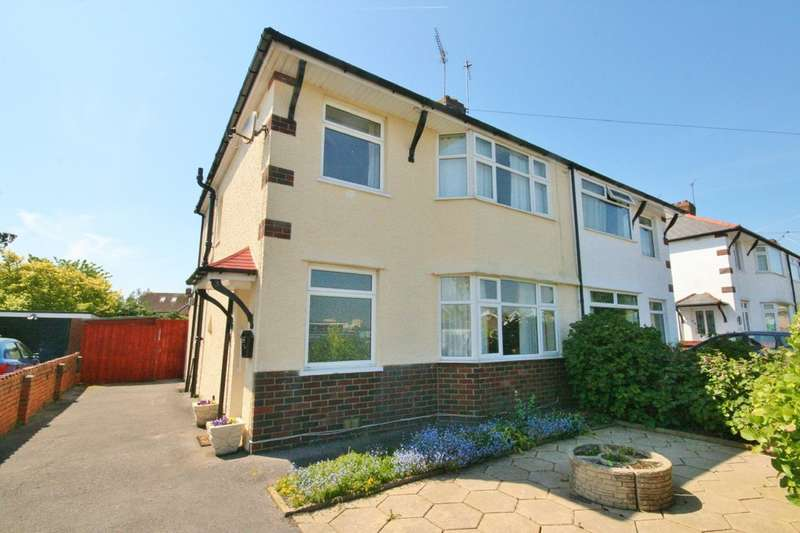 3 Bedrooms Semi Detached House for sale in Dryden Road, Penarth. Vale of Glamorgan. CF64 2RT