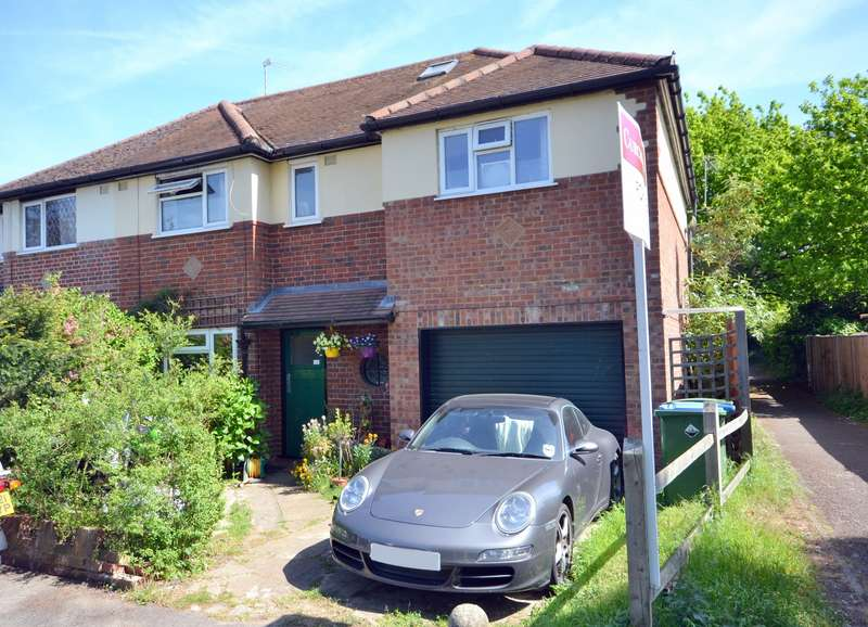 4 Bedrooms Semi Detached House for sale in Hersham