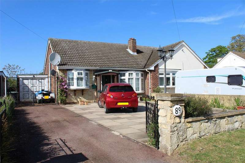 2 Bedrooms Semi Detached Bungalow for sale in Upper Caldecote, Biggleswade, Bedfordshire