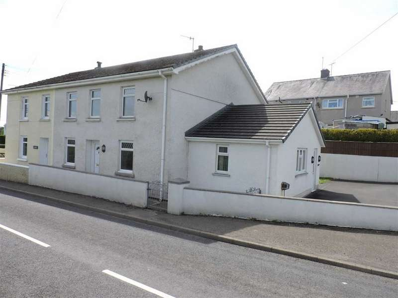 3 Bedrooms Semi Detached House for sale in Alltyblacca, Llanybydder