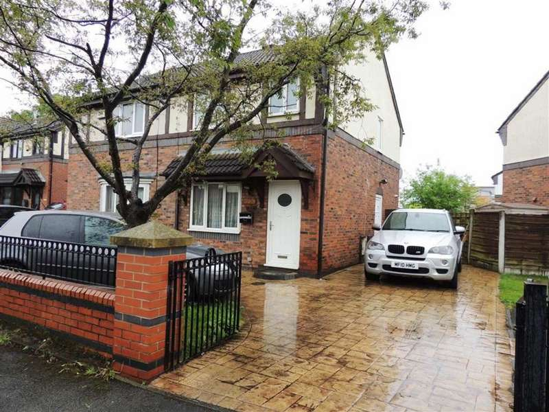 3 Bedrooms Semi Detached House for sale in Hartwell Close, Beswick, Manchester