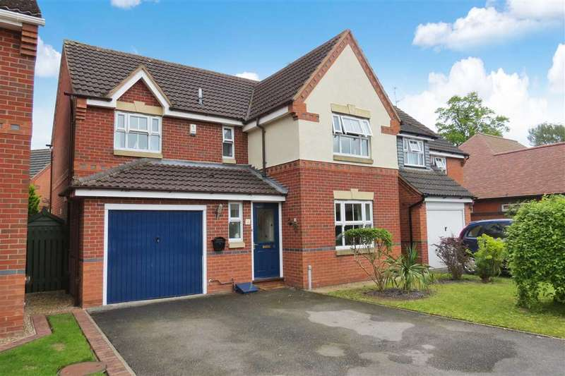 4 Bedrooms Detached House for sale in Peacock Court, Sleaford