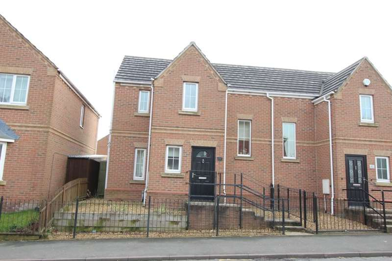 3 Bedrooms Semi Detached House for sale in Furlong Road, Tunstall, Stoke-On-Trent, ST6