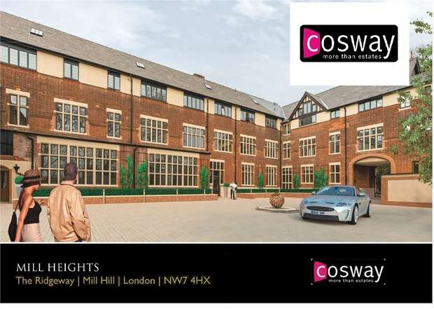 2 Bedrooms Flat for sale in Mill Heights, The Ridgeway, London