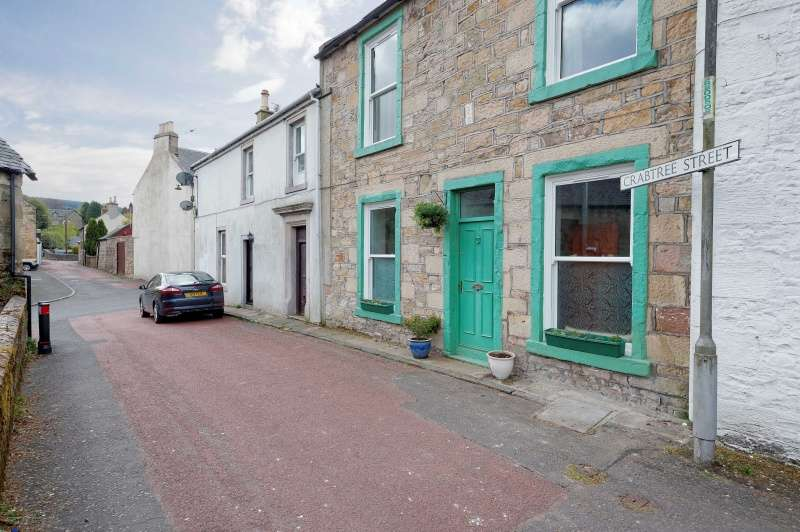 3 Bedrooms Terraced House for sale in Crabtree Street, Douglas, Lanark, ML11 0QQ
