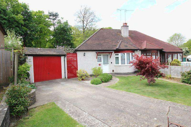 2 Bedrooms Semi Detached Bungalow for sale in NINEHAMS CLOSE, CATERHAM ON THE HILL