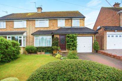 4 Bedrooms Semi Detached House for sale in Lower Lodge Lane, Hazlemere, High Wycombe, Buckinghamshire