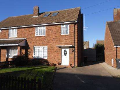4 Bedrooms Semi Detached House for sale in Wellington Road, Shortstown, Bedford, Bedfordshire