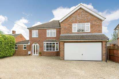 5 Bedrooms Detached House for sale in Mill Road, Cranfield, Bedford, Bedfordshire