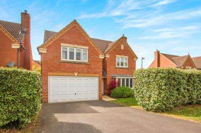 4 Bedrooms Detached House for sale in Johnson Road, Emersons Green, Bristol, Gloucestershire